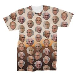 Larry David Faces T-Shirt