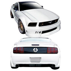 Duraflex Circuit Wide Body Kit 9 Piece For Mustang Ford 05-09 Ed_110212