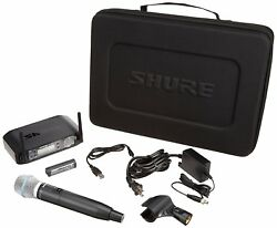 Shure Wireless System Glx-d Series Beta87 Handheld Microphone Set From Japan F/s
