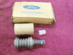 1968-1975 Ford F-100 4 X 4 Steering Box Worm Gear And Shaft, Nos, C7tz-3524-f