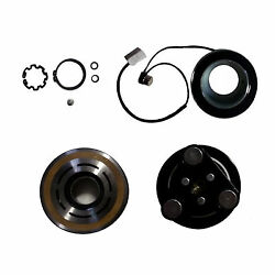 AC Compressor & Clutch Kit Hub Pulley Coil Bearing Replacement ZB For MAZDA 3 5