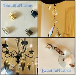 12 HANGING MAGNETS Silver For DIY MAGNETIC CRYSTALS Crystals sold separately $10.00