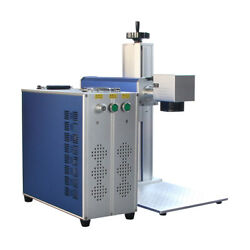 20w Fiber Laser Marking Machine With Chuck Rotary Dhl Free Shipping
