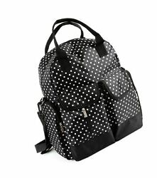 Baby diaper bag backpack functional stylish and durable multi-pocket mult...