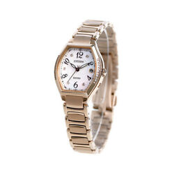 Citizen Exceed Es9385-57w Eco-drive Radio Wave Womenand039s Watch New In Box