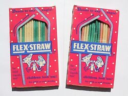 Pre-ban Vintage Straws, Paper Not Illegal Plastic - Candr, No License Required