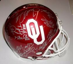 2008 Authentic On Field Pro Line Riddell Full Size Team Signed Ou Helmet
