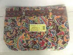 Longaberger Sisters Carry Me Away Tote Purse Bag Celebration Fabric New