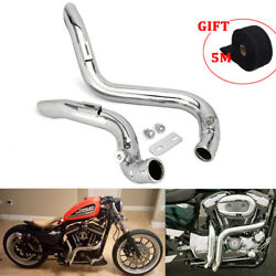 Motorcycle 2 Drag Pipe Exhaust Heat Wrap Roll For Touring Models 1984 1986 2015