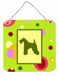Caroline's Treasures Kerry Terrier by Denny Knight Graphic Art Plaque