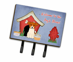 East Urban Home Dog House Jack Russell Terrier Leash or Key Holder