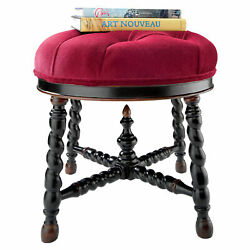 Design Toscano Rue Saint-Honore Bergere Chair and Ottoman