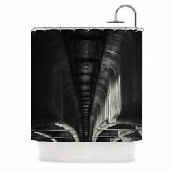 East Urban Home 'Under Bridge Arches' Photography Shower Curtain
