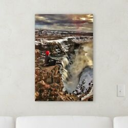 Ebern Designs 'Meditation and Calming (69)' Photographic Print on Canvas