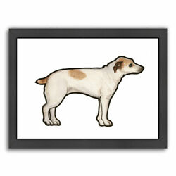 East Urban Home Jack Russell Framed Print of Painting