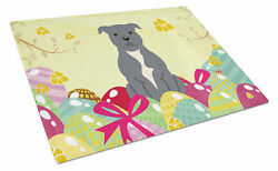 The Holiday Aisle Saroyan Glass Staffordshire Bull Terrier Cutting Board