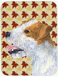 East Urban Home Jack Russell Terrier Portrait Glass Cutting Board