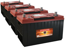QTY 4 VMAX XCA31-1400 AGM 1400MCA for power boat wgroup 31 marine 12V batteries