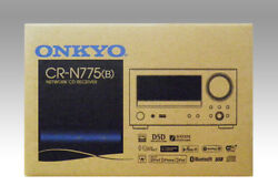 Onkyo Cr-n775 B Network Cd Receiver Hires Sound Music Black From Dhl Fast Ship