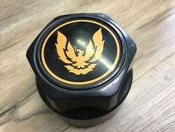 1977- 1992 Pontiac Trans Am T/a Used Gm Wheel Center Cap Black/gold