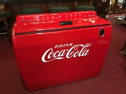 1950's COKE Coca Cola Westinghouse Cooler Fully Restored