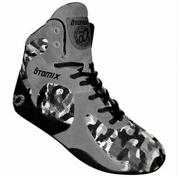 Otomix Stingray Escape Bodybuilding Weightlifting Mma Grappling Shoe Grey/camo