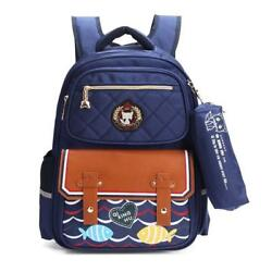 Kids School Bags Backpack for Boys and Girls with Pencil Case Stylish...