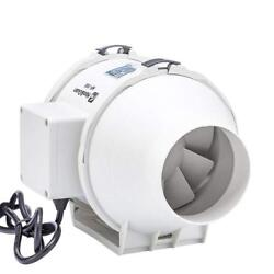 Hon&Guan 4 Inch Inline Duct Fan Exhaust Mixed Flow Hydroponic Air Blower for...