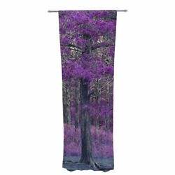 Sylvia Coomes Tree Photography Decorative Graphic Print Sheer Rod Pocket Curtain