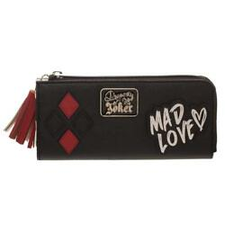 Harley Quinn Wallet Gift for Girls - DC - Mad Love Accessory