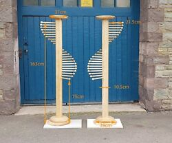 Pair Of Scarf Stands - For Shop Display/walk In Wardrobe/bedroom