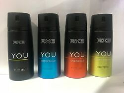 Assorted Axe You Body Spray 150 Ml Ea. Pack Of 6 Andnbsp