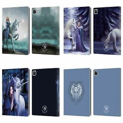 Official Anne Stokes Unicorns 2 Leather Book Wallet Case Cover For Apple Ipad