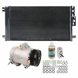 AC Repair Kit + OEM AC Compressor & Clutch For Saturn Ion and Chevy Cobalt