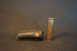Old Vtg Collectible Schraderand039s Son Inc.tire Pressure Gauge With Case
