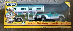NEW IN BOX Breyer Stablemates Truck and Gooseneck Trailer Set # 5356 Horse Toy