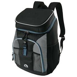 New Marine Ultra Cooler Soft Backpack Insulated Ice Box Camping Travel Black Beg