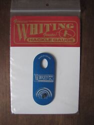 Fly Tying Whiting Farms Hackle Gauge - Blue