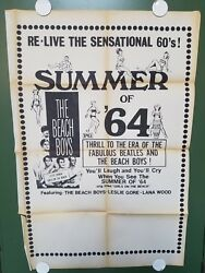 1960s SUMMER OF '64 One Sheet Poster 27