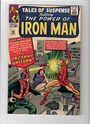Tales Of Suspense 56 - Grade 6.0 - First Apperance Of The Unicorn