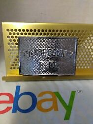 Tulare County Fire Department Belt Buckle #46