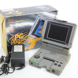 PC-Engine LT Console System Boxed Tested FREE SHIPPING Ref1Y02329LA