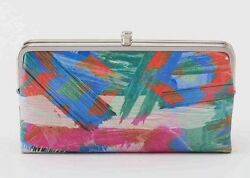 Hobo International Lauren Double Frame Leather Clutch ~ ARTIST BRUSH ~ New
