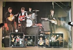 The Beatles Forever Original Vintage Poster Group Shot Pin-up 1981 Pace Minerva