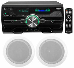 Technical Pro Dv4000 4000w Home Theater Dvd Receiver+2 6.5 Ceiling Speakers