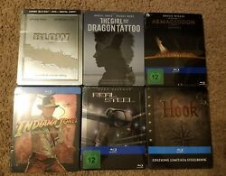 Various Steelbook, Metalpack, And Other Special Editions Blu Ray Sold Out Sealed