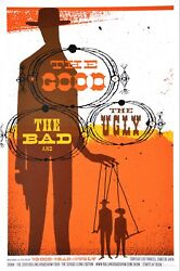The Good, The Bad, The Ugly By Jeff Kleinsmith - Rare Sold Out Mondo