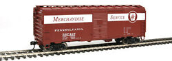 Walthers Mainline 1769 40and039 1948 Boxcar Pennsylvana Rr 567427 Rtr Ho Mib