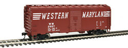 Walthers Mainline 1773 40and039 1948 Boxcar Western Maryland 29127 Rtr Ho Mib