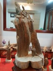 A Rare Fragrance Agarwood Aloeswood Handy Sculpture Art Colletion Fengshui